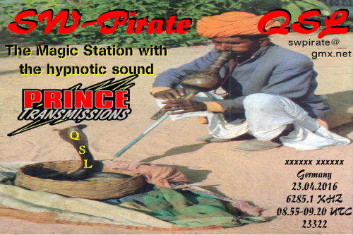 SW-Pirate QSL-12-Prince Special
