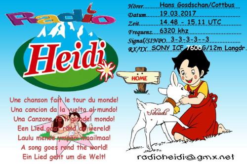 QSL Radio Heidi-2