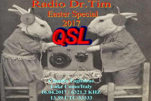 Dr.Tim-QSL - Ostern QSL