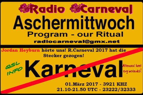 Radio Carneval-12 - Aschermittwoch