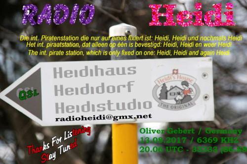 QSL Radio Heidi-6