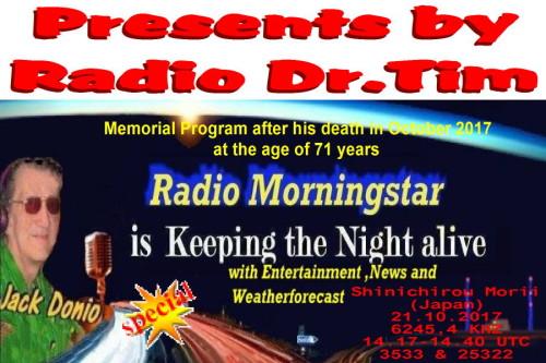Dr.Tim-QSL - Morningstar Special
