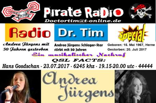 Dr.Tim-QSL - Andrea Jürgens