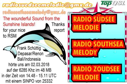 Radio Südsee Melodie - 1
