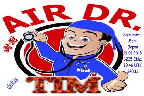 Dr.Tim-QSL - Air Dr.Tim