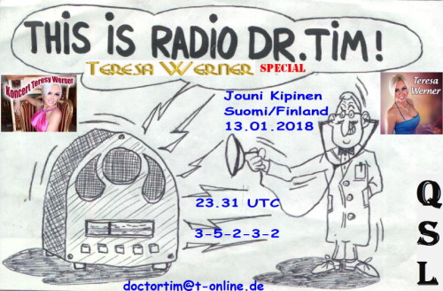 Dr.Tim-QSL - This is Radio Dr.Tim