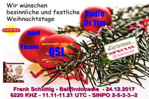 Dr.Tim - Weihnachts QSL-13