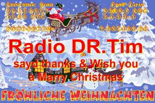 Dr.Tim - Weihnachts QSL-15