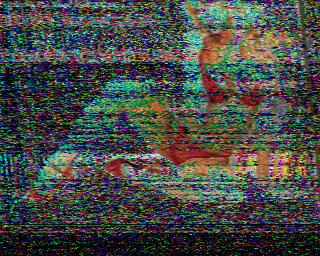 SSTV-26.12. 2017 - 6245,5 KHZ - 12.28 UTC