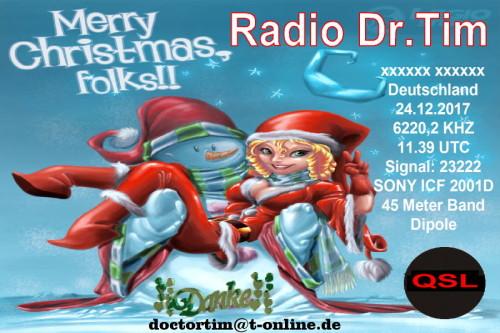Dr.Tim - Weihnachts QSL-5